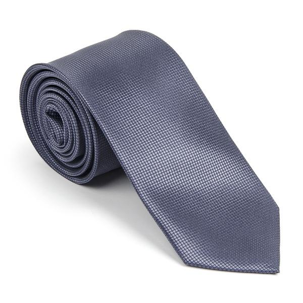 Gravata Azul Metálico