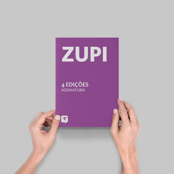 Assinatura Revista Zupi - 4 edições