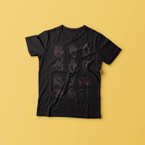 Camiseta Pixel Show 2017