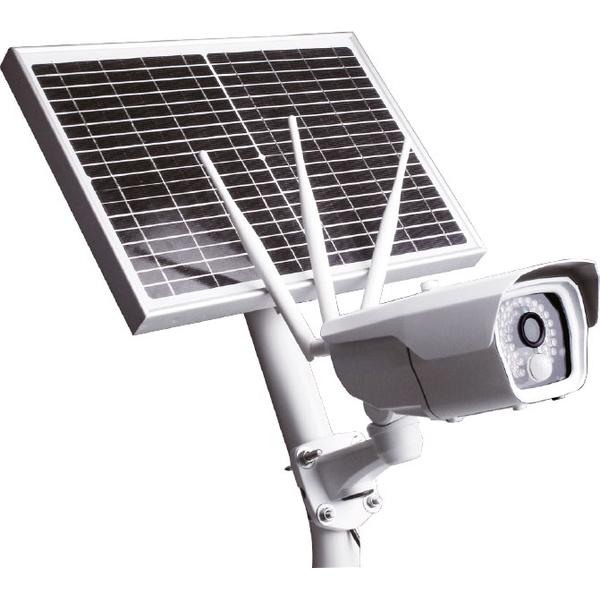 Câmera Externa com Placa Fotovoltaica e 4g