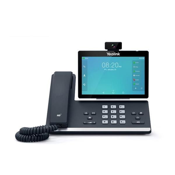 T58A com Câmera - Telefone IP Yealink Giga SIP Touch