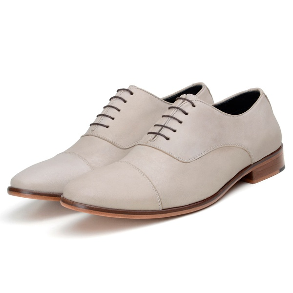 Sapato Casual Masculino Oxford CNS Jack Natural