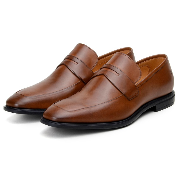 Sapato Social Masculino Loafer CNS Ryan Whisky
