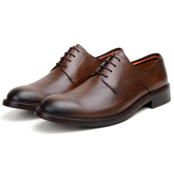 Sapato Casual Masculino Derby CNS Ramy 3 Whisky