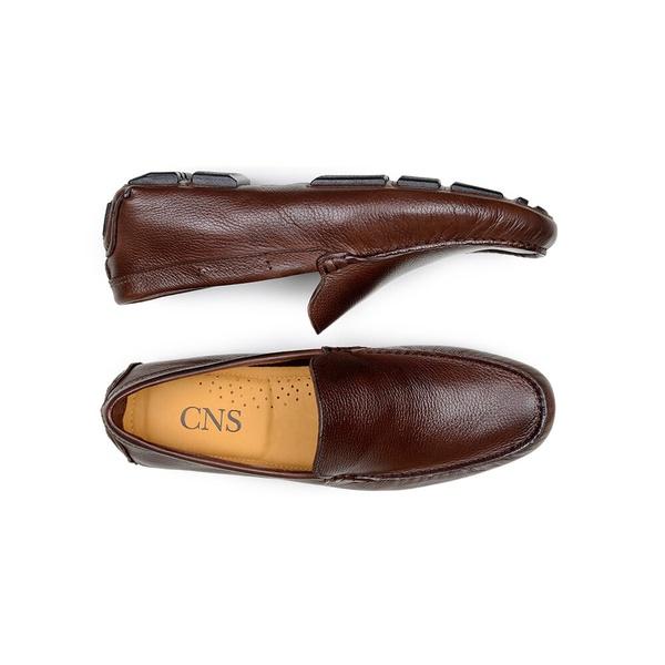 Sapato Casual Masculino Driver CNS 55A008 Café