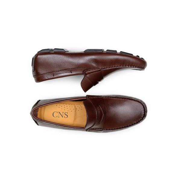 Sapato Casual Masculino Driver CNS 55A009 Café
