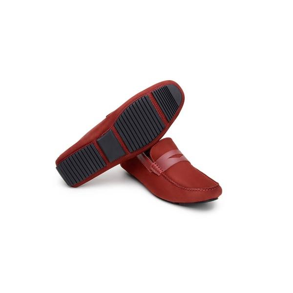 Sapato Casual Masculino Driver CNS 18197 Vermelho
