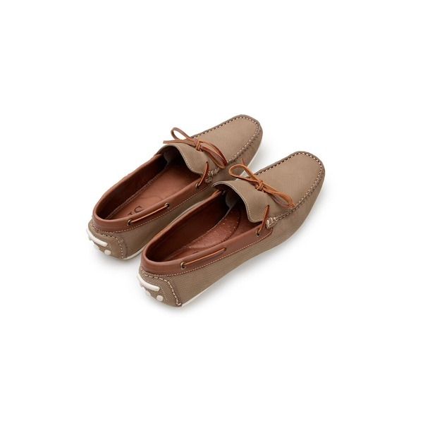 Sapato Casual Masculino Mocassim CNS 20086 Areia