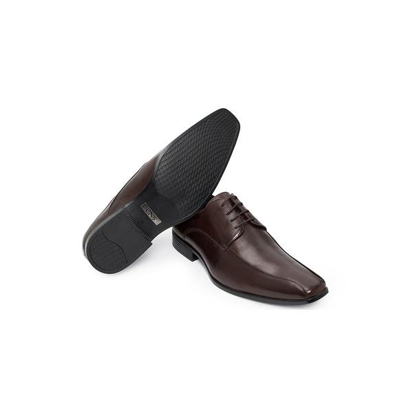 Sapato Social Masculino Derby CNS LZI 017 Mouro
