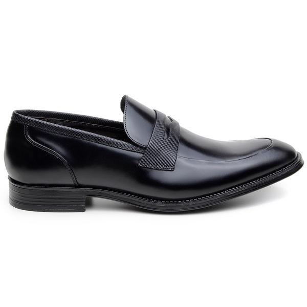 Sapato Social Masculino Loafer CNS NPL 012 Preto