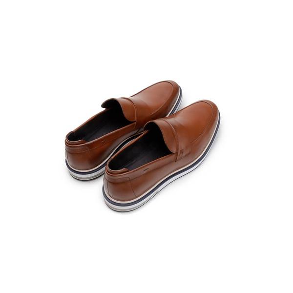 Sapato Casual Masculino Loafer CNS 176057 Conhaque