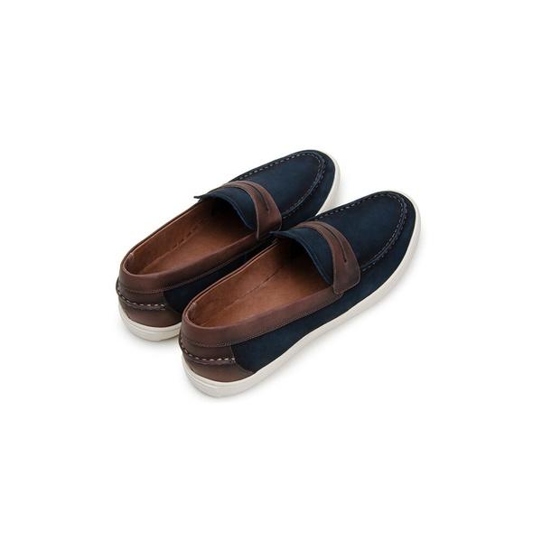 Sapato Casual Masculino Slip-on CNS STR 295 Azul