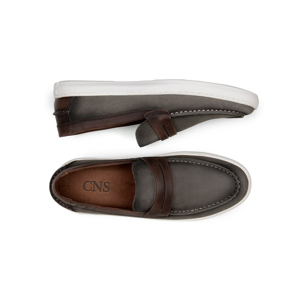 Sapato Casual Masculino Slip-on CNS STR 295 Brown