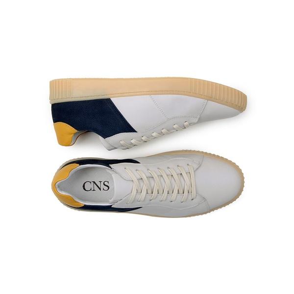 Tênis Casual Masculino CNS EPI 119 Branco e Azul