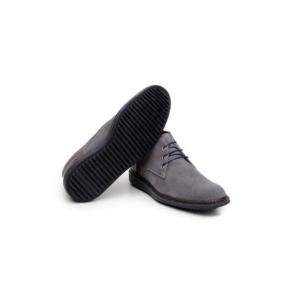 Sapato Casual Masculino Derby CNS Every 03 Cinza
