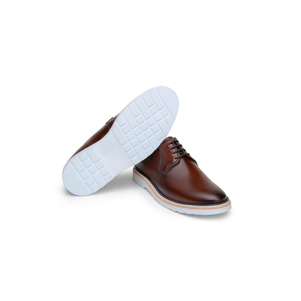 Sapato Casual Masculino Derby CNS Wish 18 Whisky