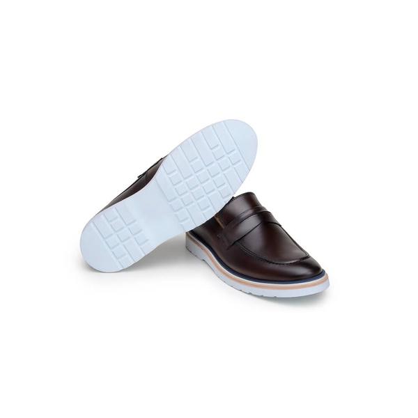Sapato Casual Masculino Loafer CNS Wish 19 Vinho