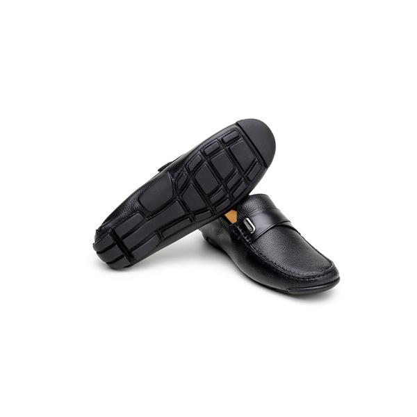 Sapato Casual Masculino Driver CNS Rock 29 Preto