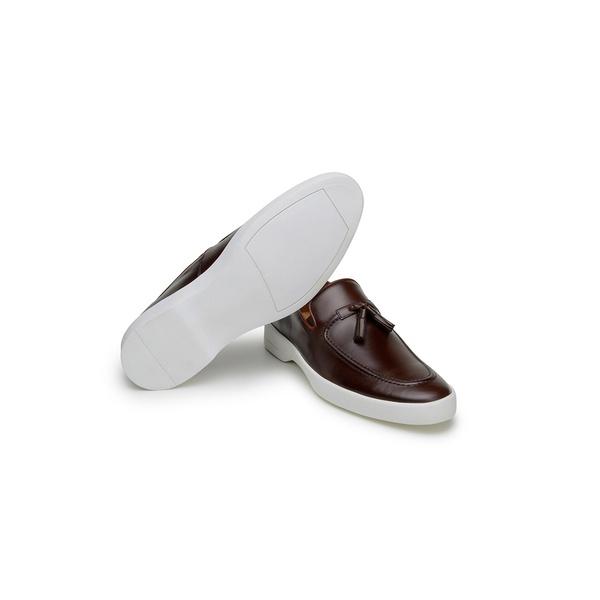 Sapato Casual Masculino Mocassim CNS Prado 02 Tostado