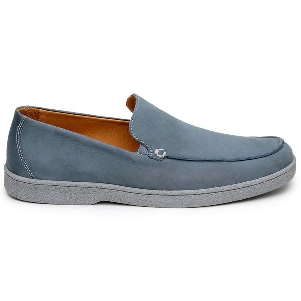 Sapato Casual Masculino Slip-on CNS Marte 01 Azul
