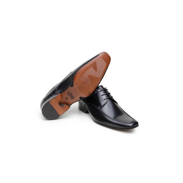 Sapato Social Masculino Derby CNS Disc 05 Preto