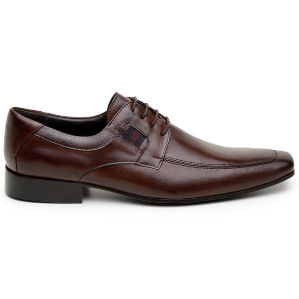Sapato Social Masculino Derby CNS 57033 Café