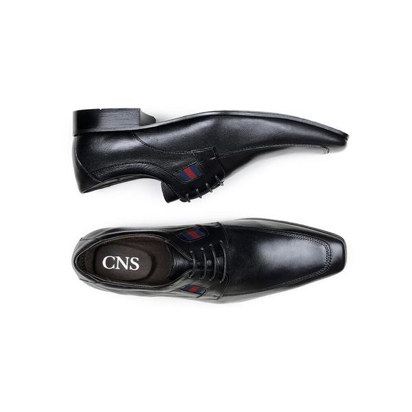 Sapato Social Masculino Derby CNS 57033 Preto