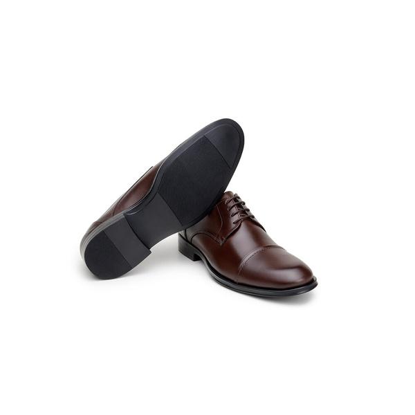 Sapato Social Masculino Derby CNS 71010 Café