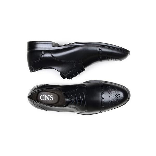 Sapato Social Masculino Derby CNS Brogue 71008 Preto