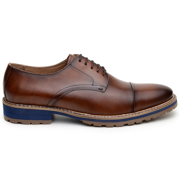 Sapato Casual Masculino Derby CNS 2115 Whisky