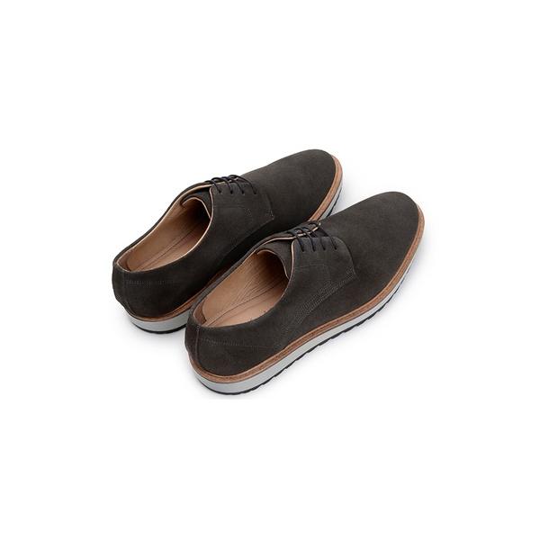 Sapato Casual Masculino Derby CNS 50604 Chumbo