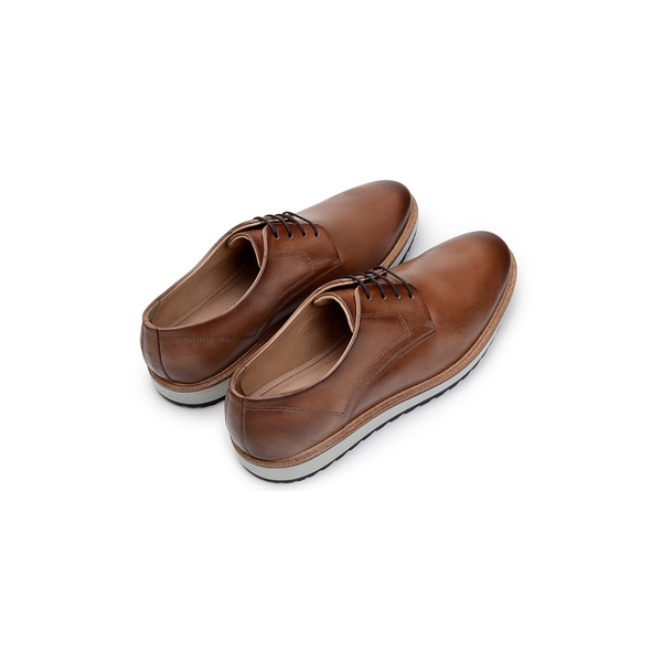 Sapato Casual Masculino Derby CNS 50604 Tabaco