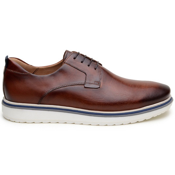 Sapato Casual Masculino Derby CNS 50605 Whisky