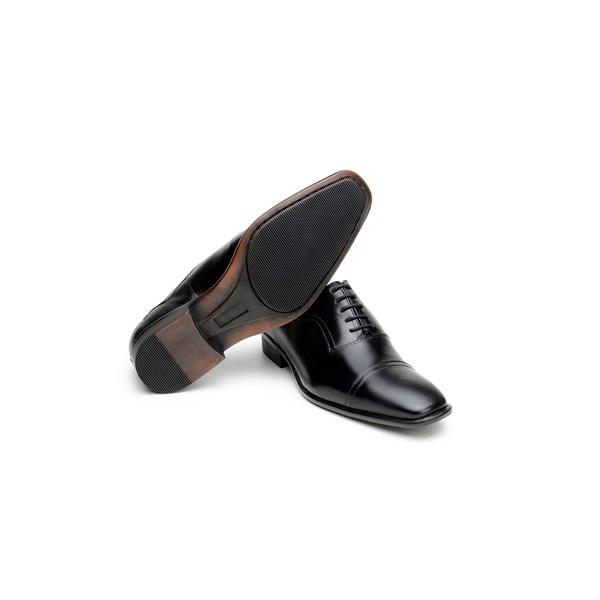 Sapato Social Masculino Derby CNS 12503 Preto