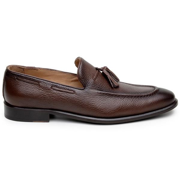 Sapato Social Masculino Loafer CNS 13106 Conhaque