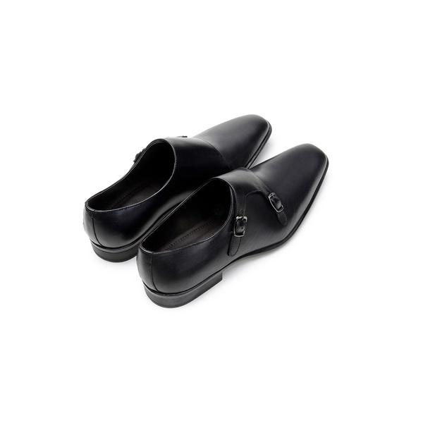 Sapato Social Masculino Monk Strap CNS 12505 Preto