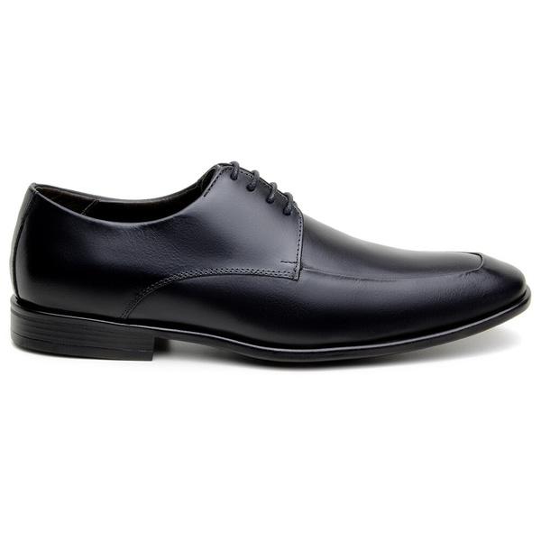 Sapato Social Masculino Derby CNS 41005 Preto Naturale
