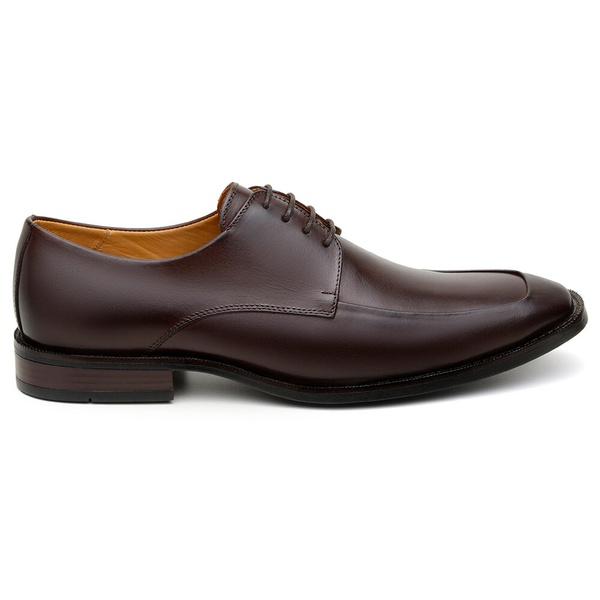 Sapato Social Masculino Derby CNS 68008 Chocolate