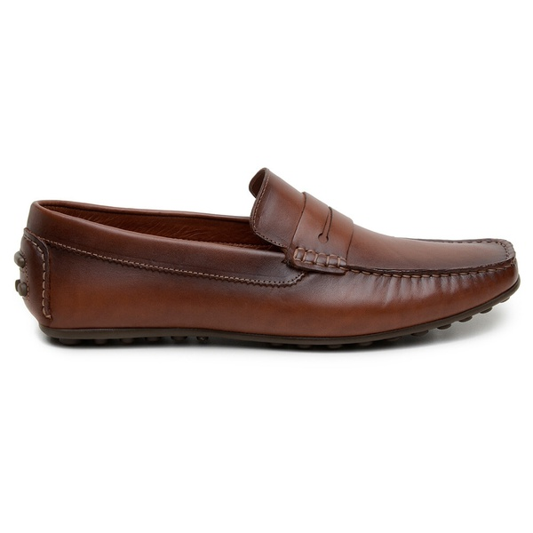 Sapato Casual Masculino Mocassim CNS 18191 Caramelo
