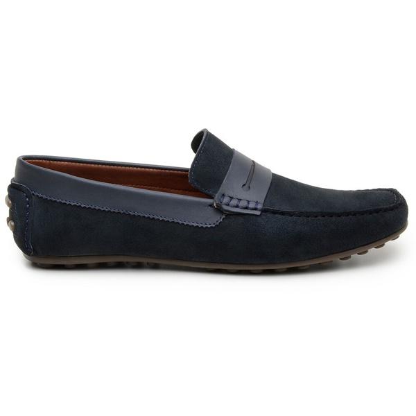 Sapato Casual Masculino Mocassim CNS 18191 Marinho