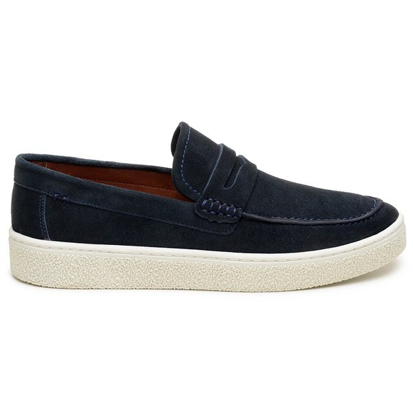 Sapato Casual Masculino Slip-on CNS 21023 Marinho