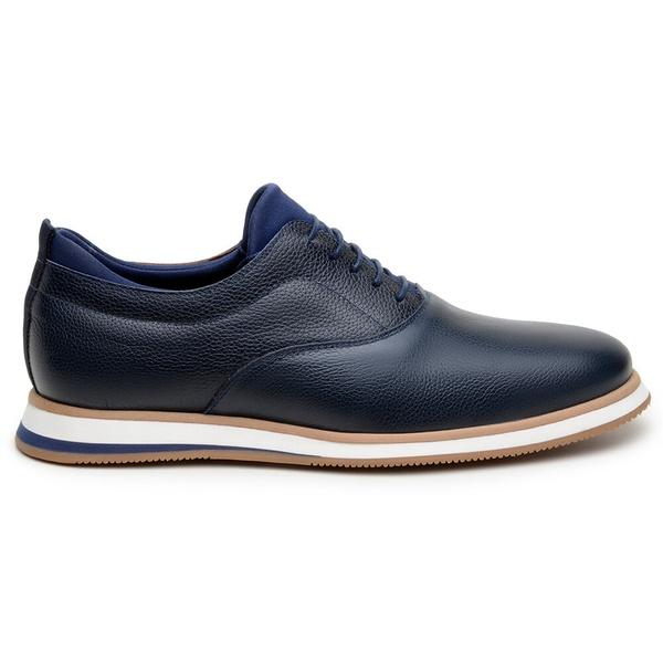 Sapato Casual Masculino Oxford CNS ABD 010 Marinho