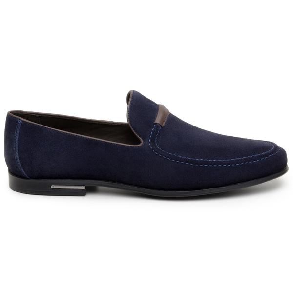 Sapato Casual Masculino Mocassim CNS 1336 Navy Blue