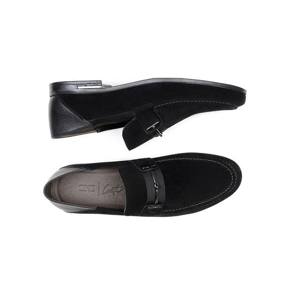 Sapato Casual Masculino Mocassim CNS 1337 Preto