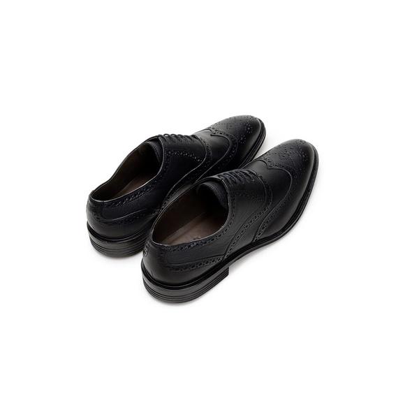 Sapato Social Masculino Oxford CNS Brogue 188031 Preto