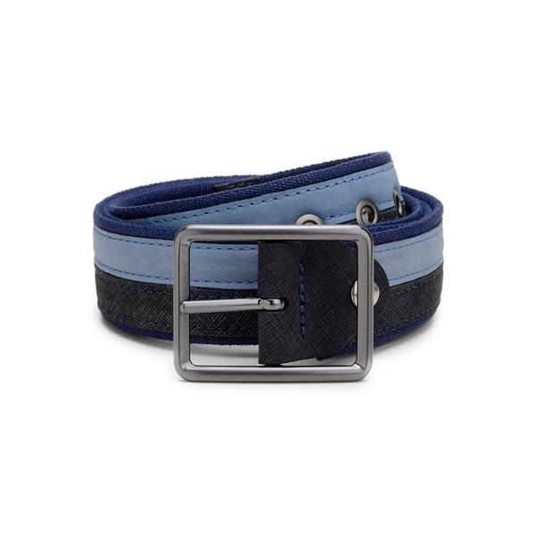 Cinto Casual Masculino Dupla Face CNS 08313041 Azul e Jeans