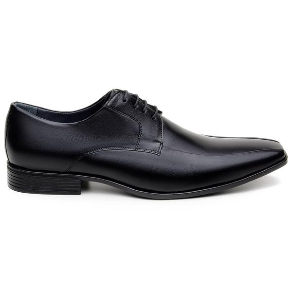 Sapato Social Masculino Derby CNS 2701 Preto