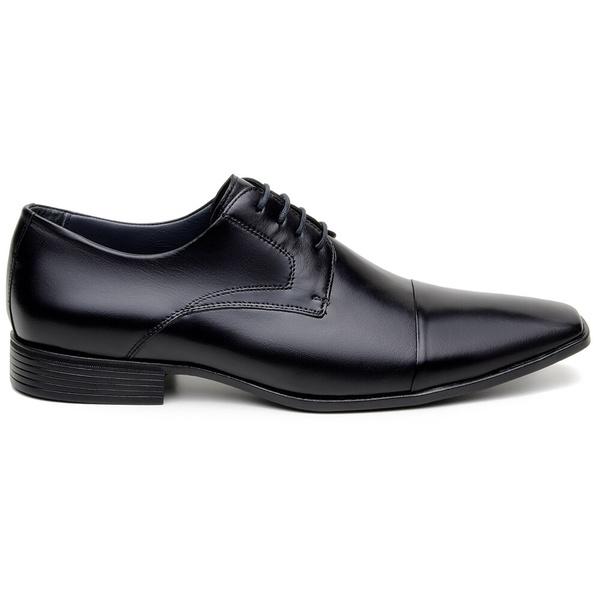 Sapato Social Masculino Derby CNS 2702 Preto