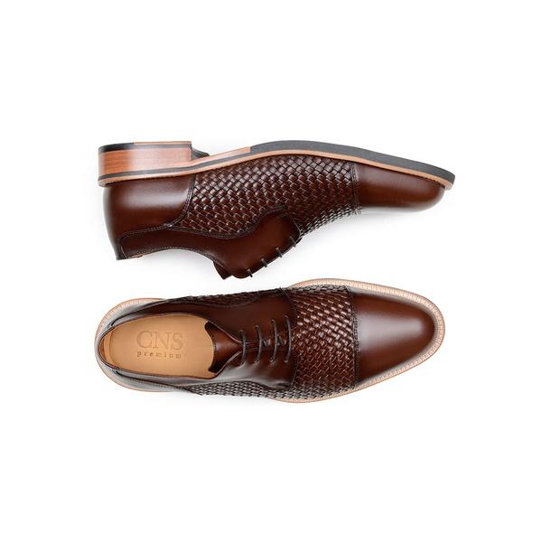 Sapato Casual Masculino Derby CNS 14917101 Seta