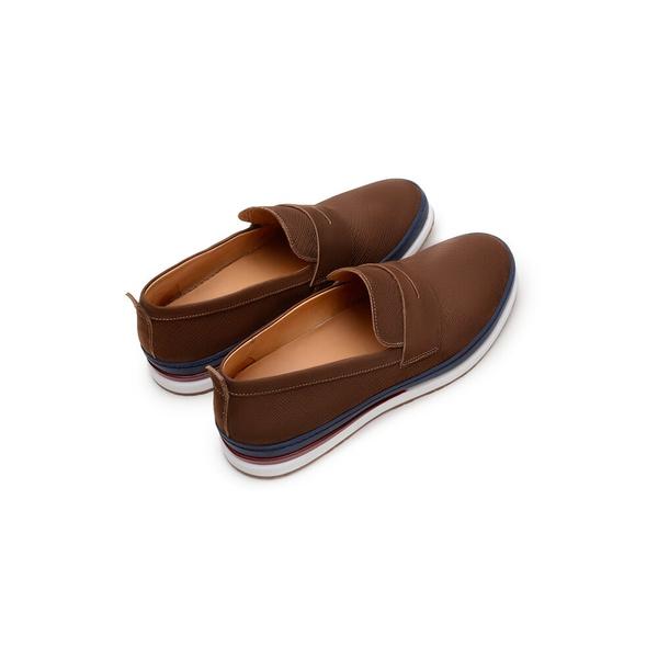 Sapato Casual Masculino Loafer CNS Every 13 Castanho